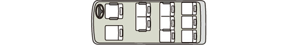 ジャンボ12車内図